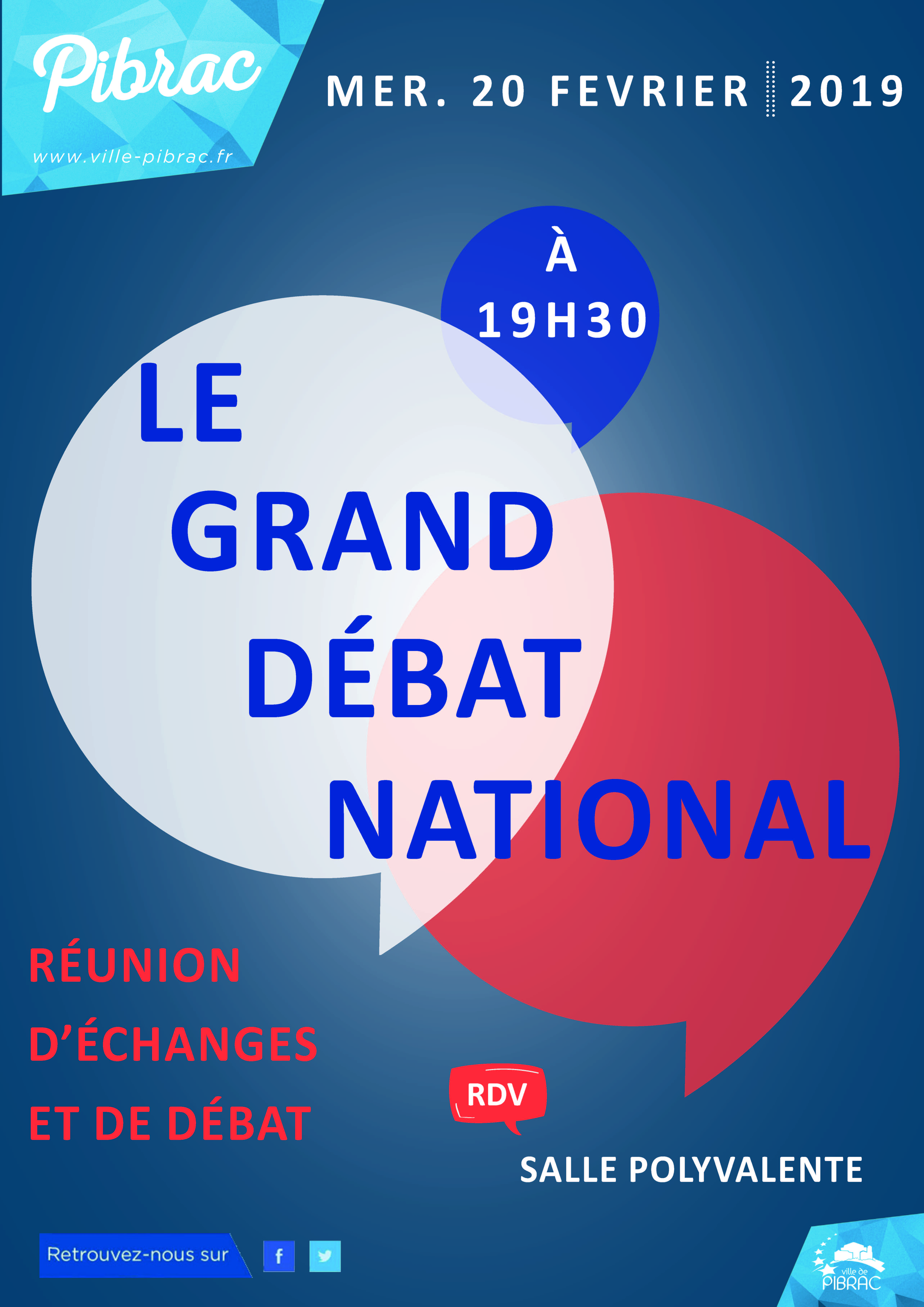 Affiche Le Grand Débat National