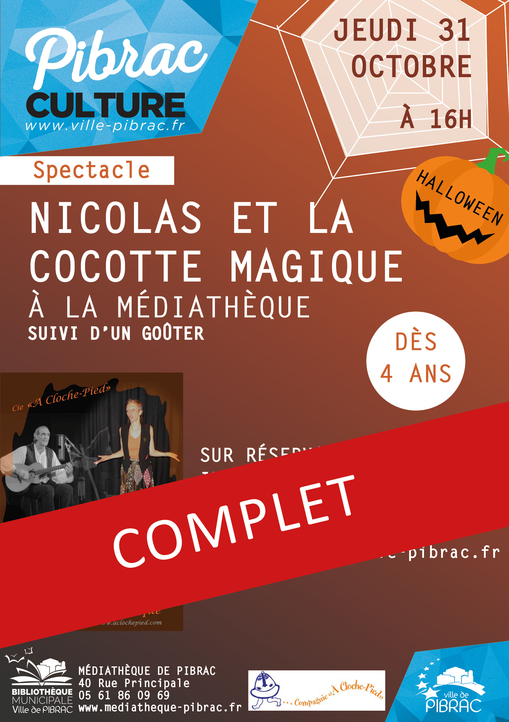 Spectacle Halloween complet